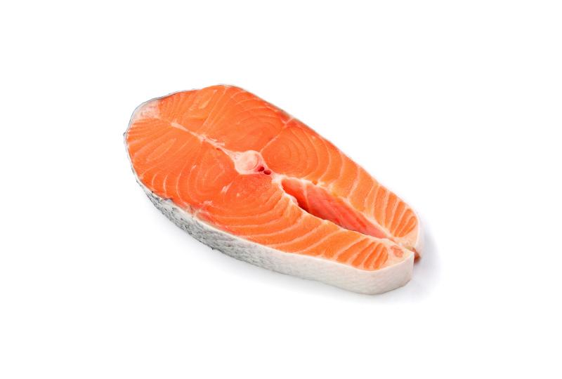 postas de salmão congelado