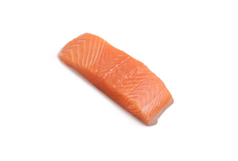 tranches de salmão
