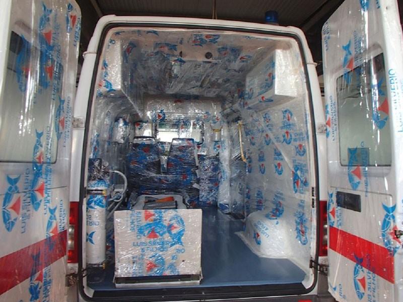 ambulancia apoio bombeiros